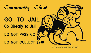 Go To Jail Monopoly Mixed Media by Jas Stem